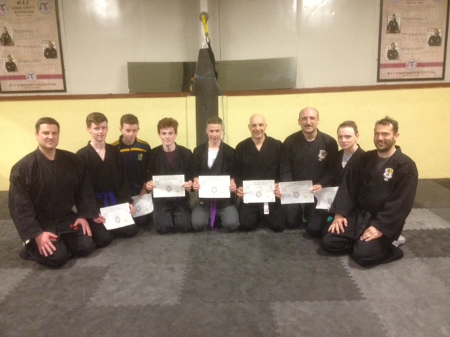 Senior Grading class May 2015